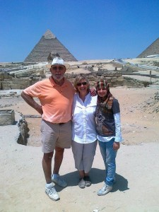 Day tour to Pyramids of Giza and Alexandria library